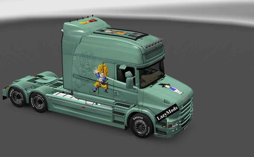 Мод ETS 2 — SCANIA T SAYANS SKIN PACK