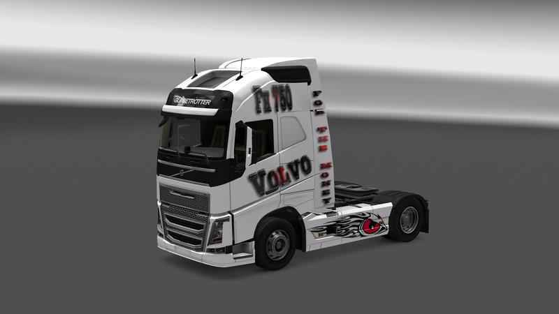 Мод ETS 2 — FOR THE MONEY VOLVO