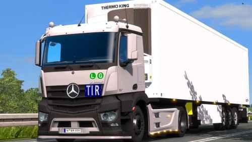 Мод ETS 2 — Mercedes-Benz Antos 12