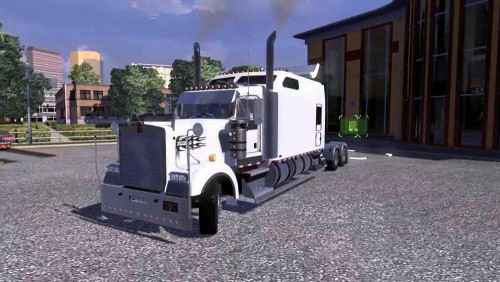 Мод ETS 2 — Kenwoth W900 Long