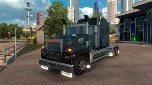 Мод ETS 2 — Mack Titan V8