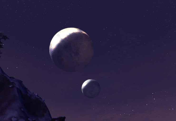 Oblivion — Улучшение Луны