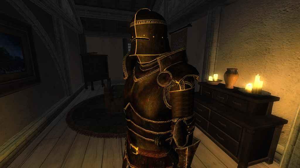 Мод Oblivion — Реплейсер Эбонитовой брони