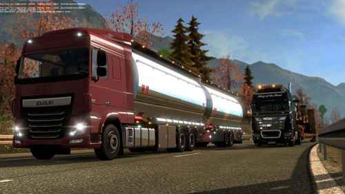 Мод ETS 2 — Звуки трафика (AI Truck Sound)