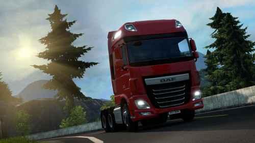 ETS 2 — Новый двигатель для всех тягачей (All truck 750hp mod)