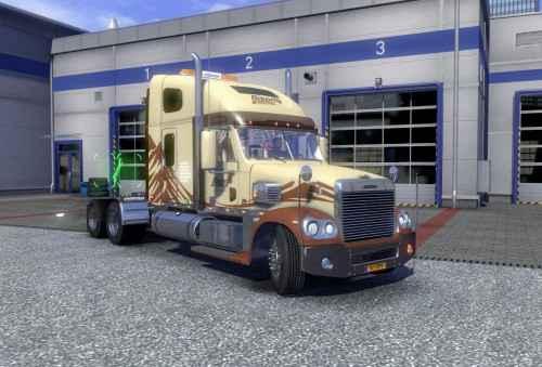 Мод ETS 2 — Новый тягач Freightliner(Freightliner Coronado Edit)