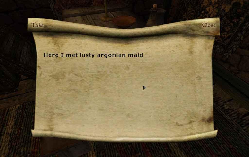 Morrowind — Берём записки с собой!