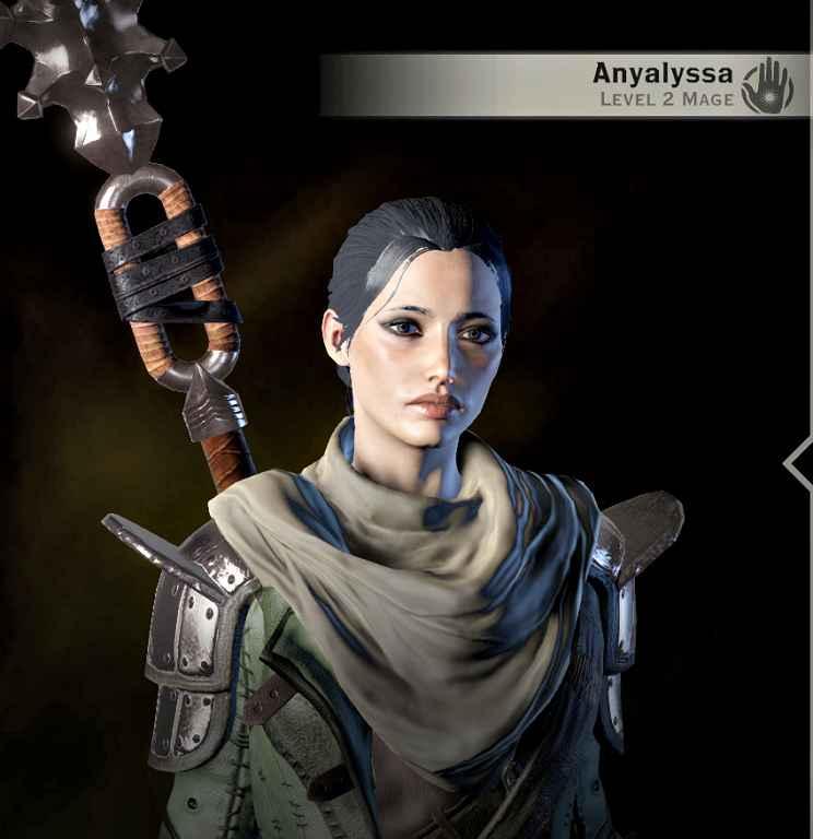 DA: Inquisition — Маг Аниалисса. Сохранение