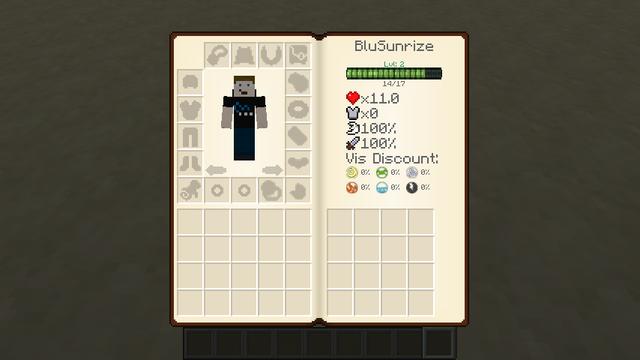 Мод Minecraft — Traveller's Gear / Новый интерфейс и броня для игрока