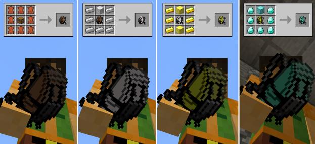 Мод Minecraft — Iron Backpacks / Вместительные рюкзаки