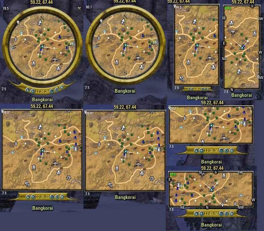 Модификация TES Online — Fyrakin MiniMap
