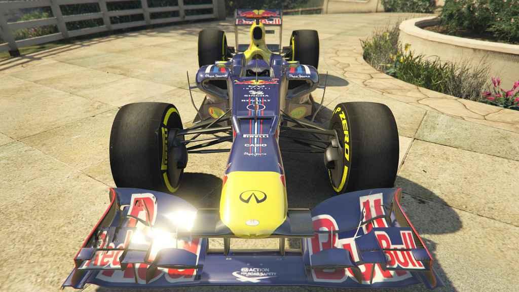 Мод GTA 5 — Red Bull F1