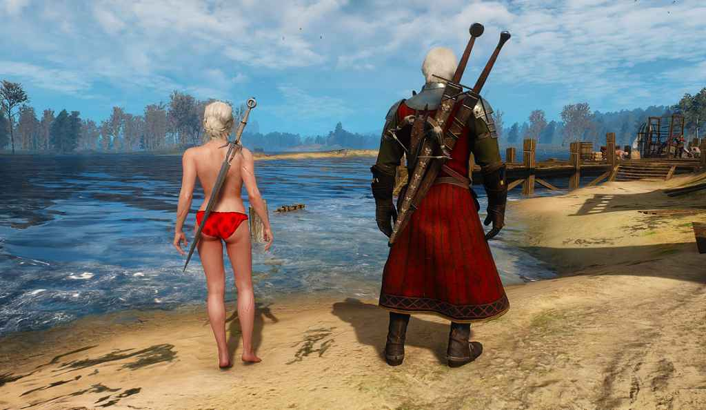 Мод The Witcher 3 — Сексуальная Цири