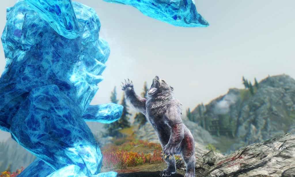 Мод Skyrim — HD Ледяной Атронах