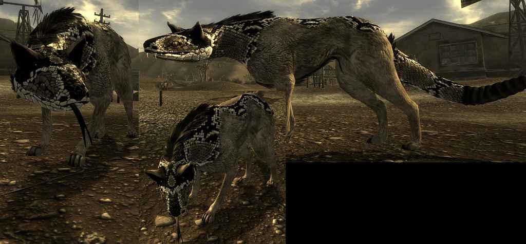 Мод Fallout New Vegas — Ретекстур для Ночного Сталкера