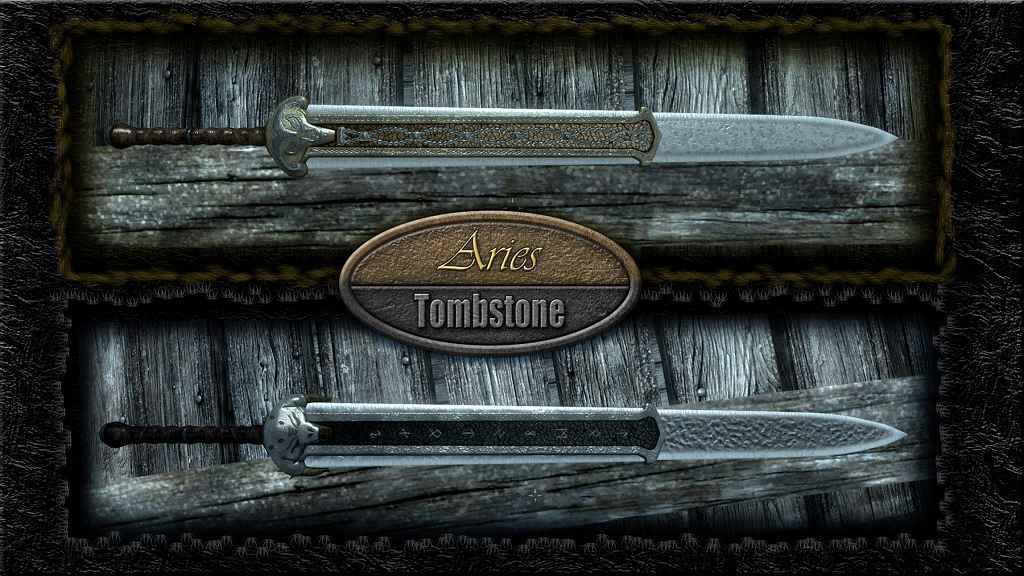 Skyrim — Овен и Надгробие. Двуручные мечи