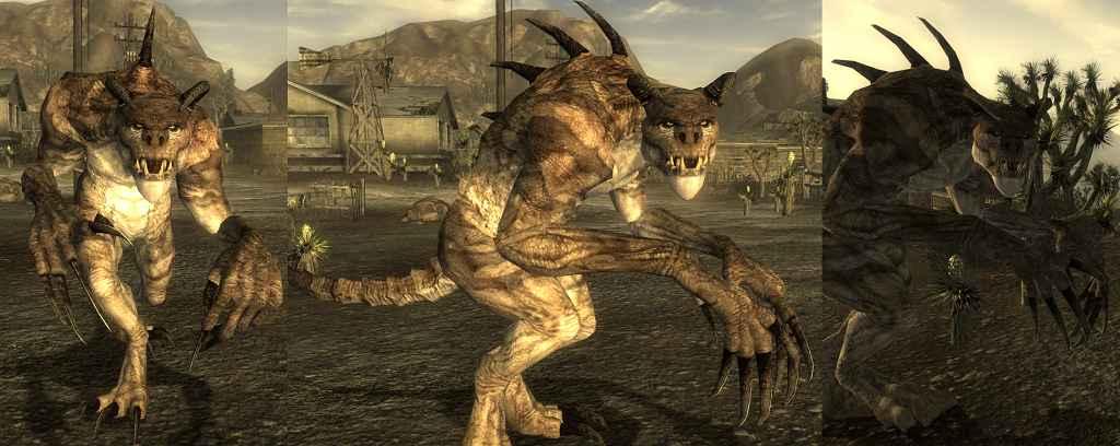 Мод Fallout New Vegas — HD Коготь Смерти