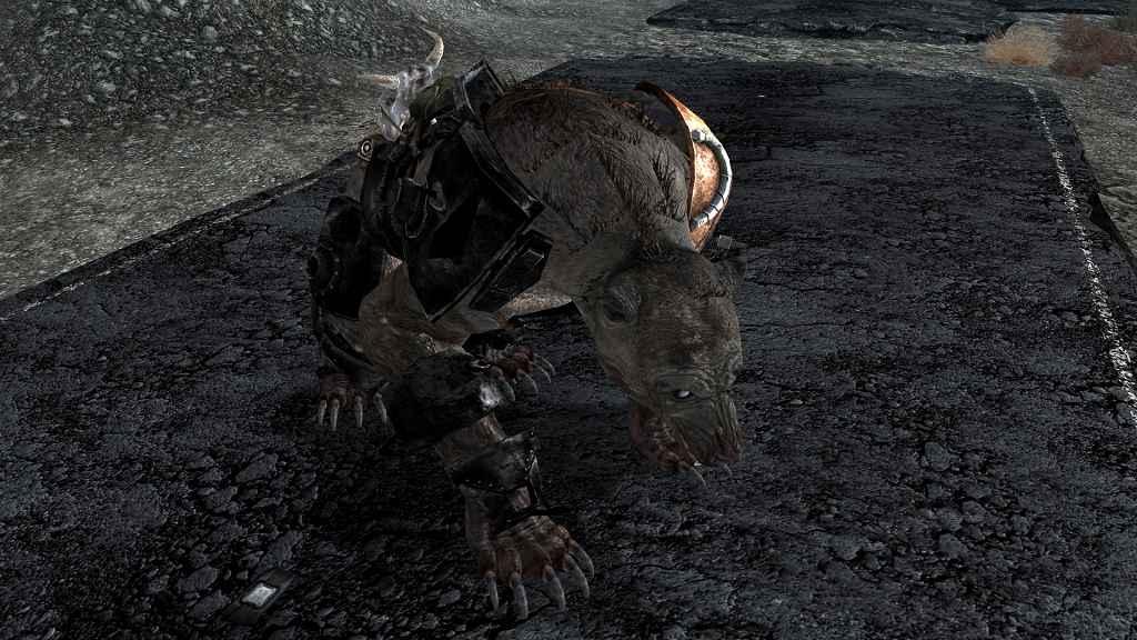 Модификация Fallout New Vegas — HD Кротокрыс