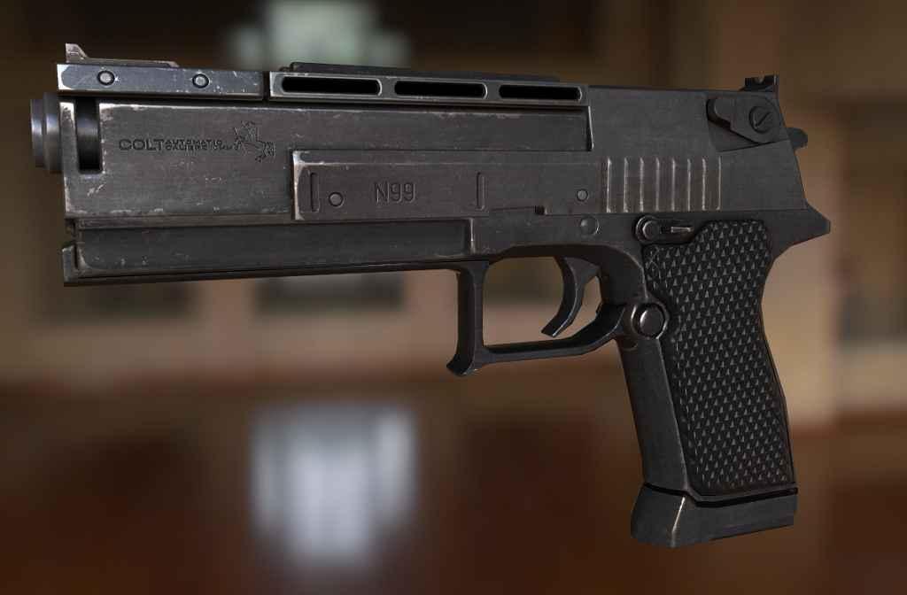 Модификация Fallout New Vegas — Colt N99, 10mm. Реплейсер