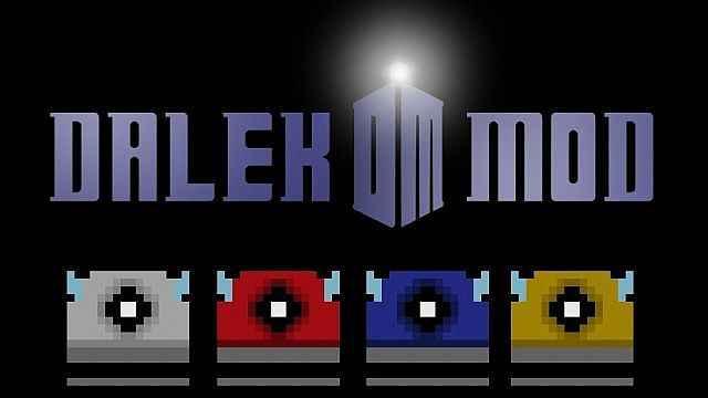 Мод Minecraft — Далеки из телесериала «Доктор Кто» (На Русском!)