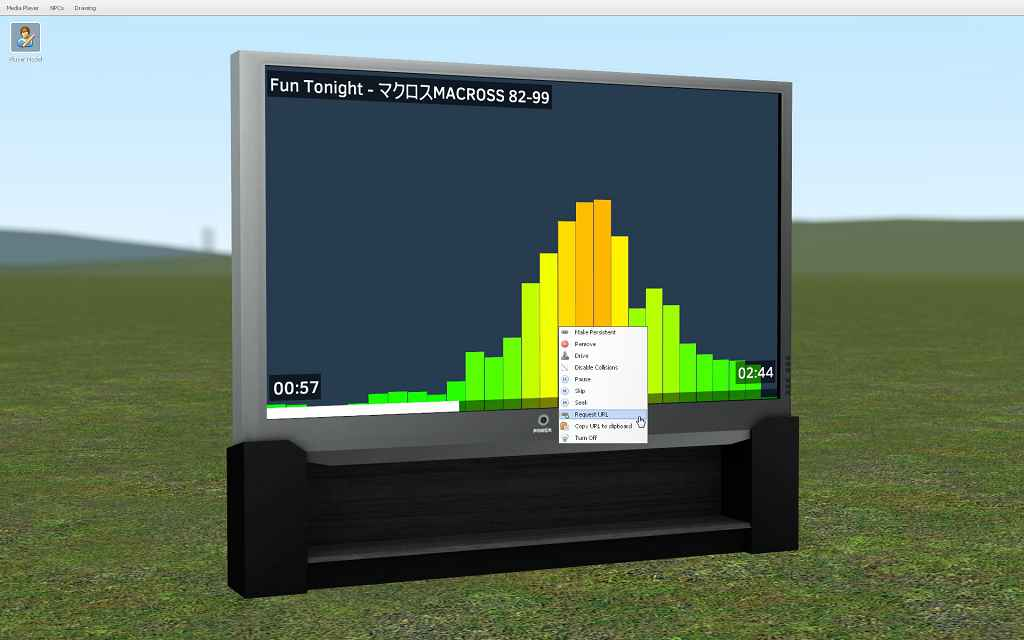 Мод Garry's Mod 13 — Media Player  Телевизор