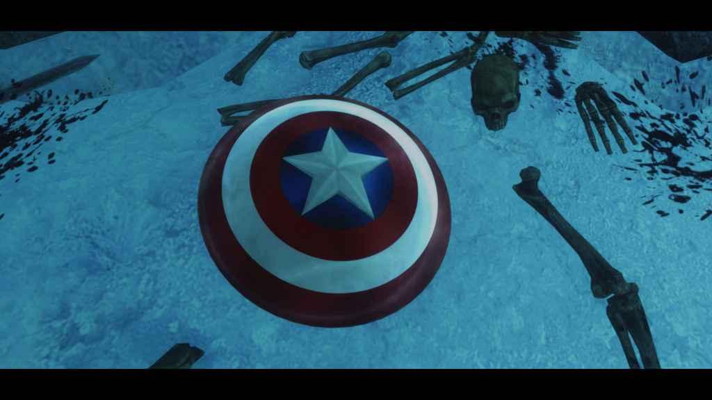 Мод Skyrim — Щит Капитана Америки