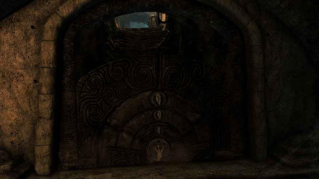 Мод Skyrim — Двери