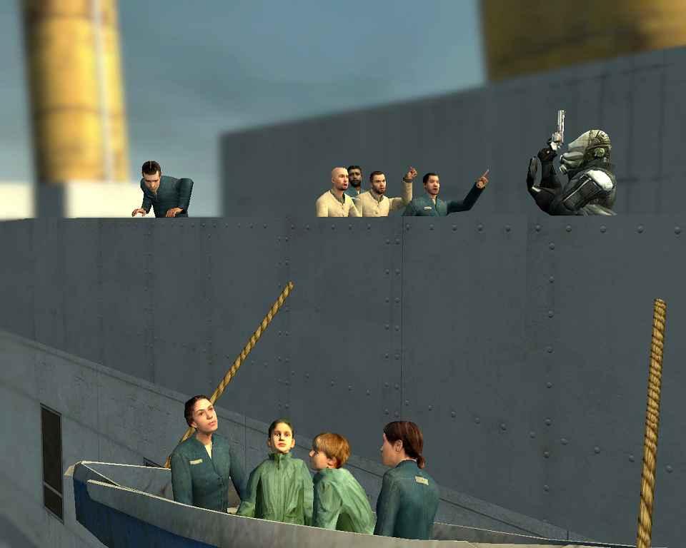 Мод Garry's Mod 13 — Карта Titanic