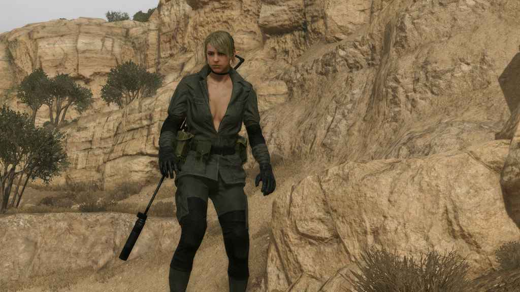 MGS V: TPP — Quiet Player