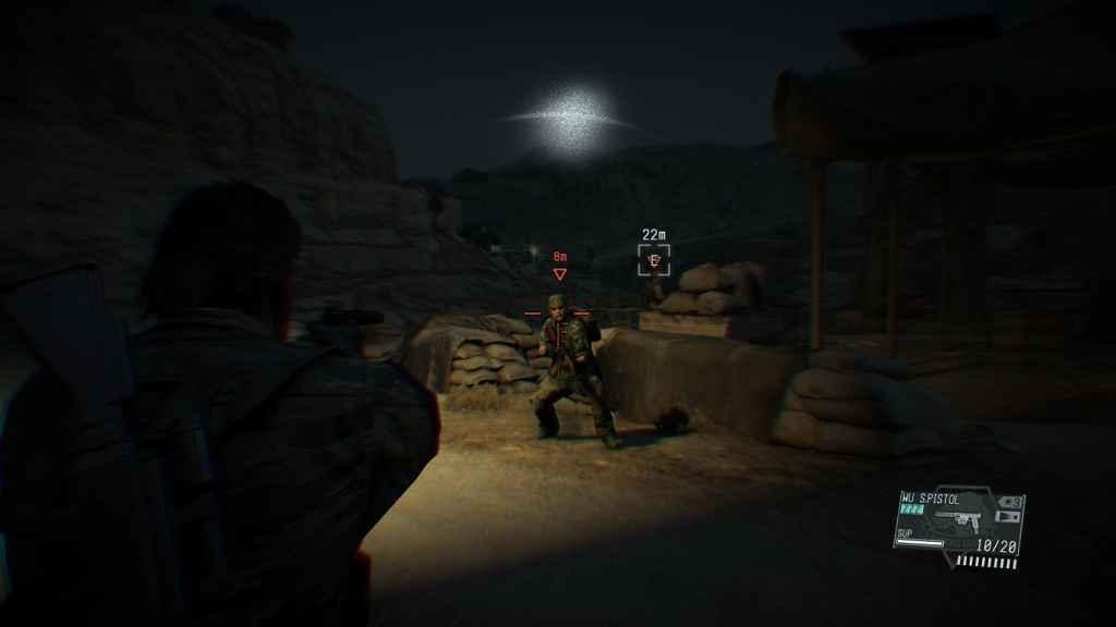 MGS V: TPP — Увеличение сложности игры (TPP HARDCORE Mod)