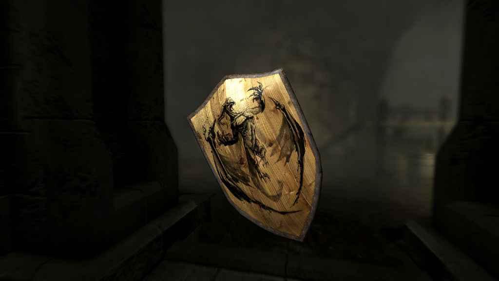 Мод Skyrim — Щиты Убийц Драконов