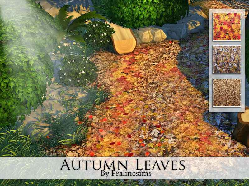 Мод Sims 4 — Осенняя листва (Autumn Leaves)