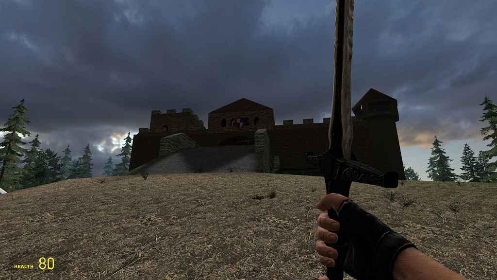 Мод Garry's Mod 13 — Средневековое оружие