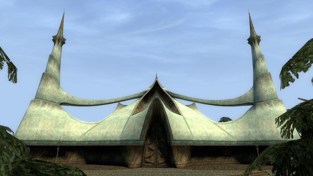 Мод Garry's Mod 13 — Карта Gm_Mournhold_Temple