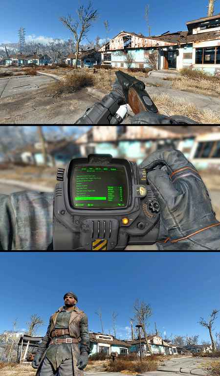 Мод Fallout 4 — Серый пип-бой