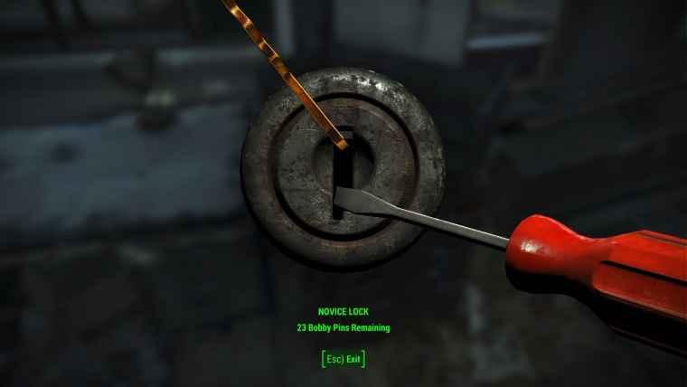 Мод Fallout 4 — Легкий взлом замков