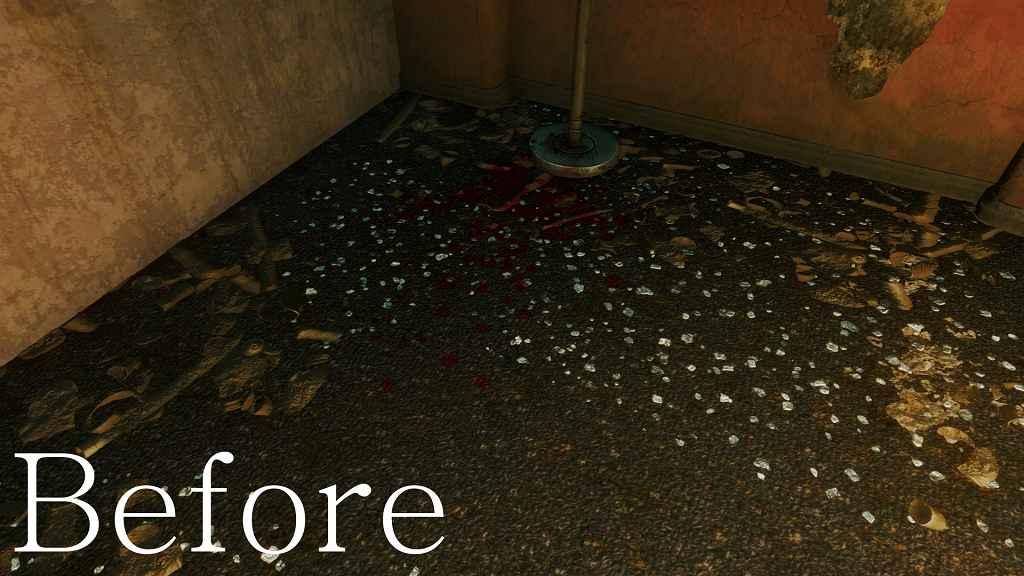 Мод Fallout 4 — Текстуры крови в 4k (Sir Victus's 4k HD Enhanced Blood Mod)