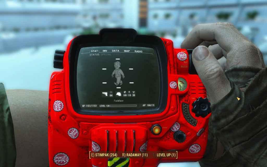 Мод Fallout 4 — Нюка-Бой 3000