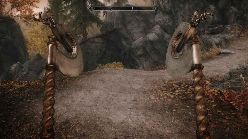 Мод Skyrim — Топор Браконьера