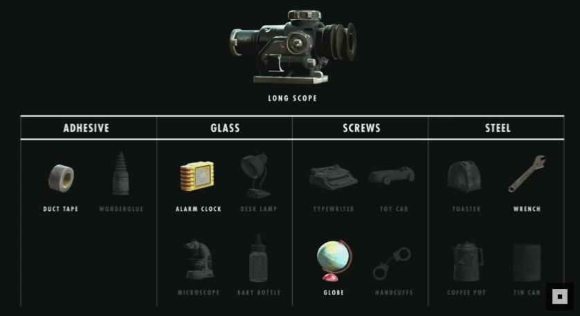 Мод Fallout 4 — 1000 ед. ингредиентов для крафта, и патрон + все хар-ки