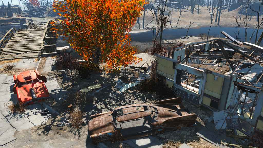 Мод Fallout 4 — Живая листва (Trees Have Colorful Leaves)