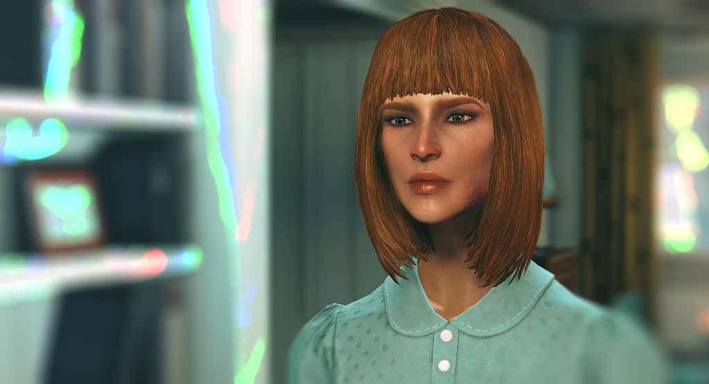Fallout 4 — «Молодые» текстуры лиц для девушек