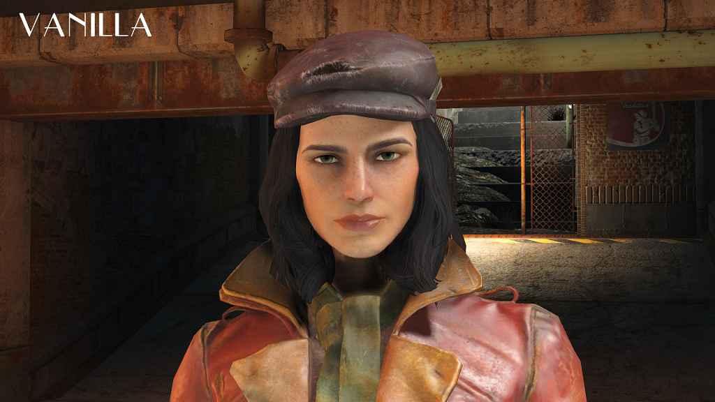 Мод Fallout 4 — Ретекстур лица Пайпер (Piper face retexture)