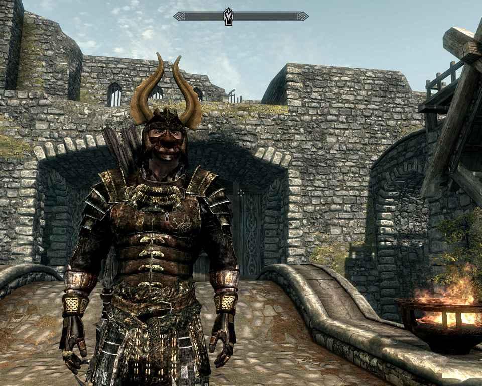 Мод Skyrim — Акавирская броня Самурая
