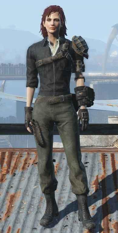 Мод Fallout 4 — Ретекстур Брони Келлога (4K Cleaner Kellogg's Armour Retexture)