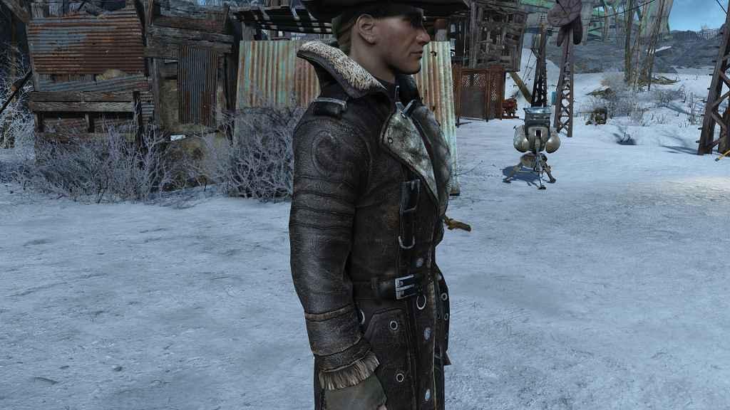 Fallout 4 — Ретекстур плаща Elder Maxson (Elder Maxson coat recolour)