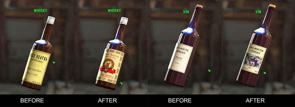 Мод Fallout 4 — Этикетки Алкоголя