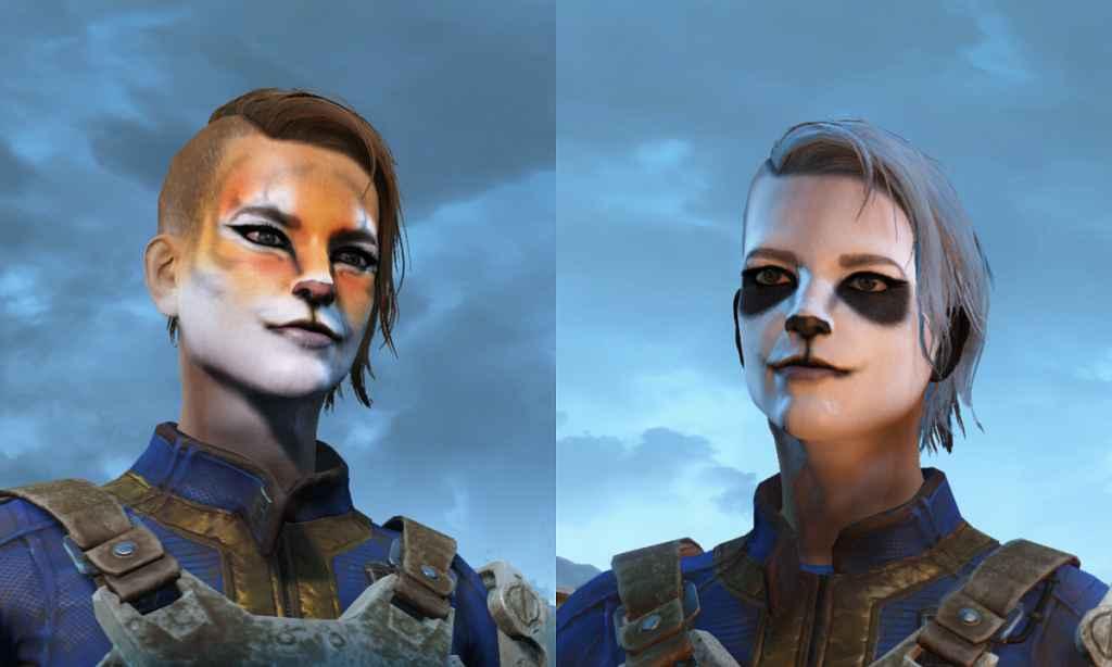 Мод Fallout 4 — Новые татуировки для лица (Faces Wild)