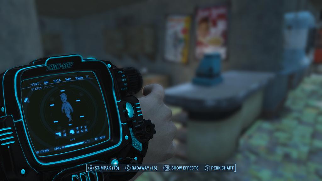 Fallout 4 — Трон-Бой