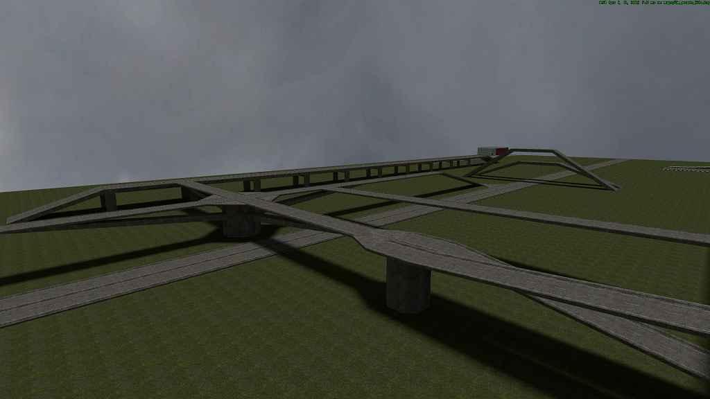 Мод Garry's Mod 13 — Карта Gm_Roads